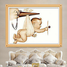 DIY 5D Diamond Painting Baby Child Embroidery Cross Stitch Crafts Home Decor
