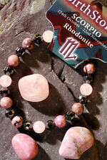 SCORPIO-Lucky Birthstone & Talisman 'Power Bracelet' Plus free book & Bookmark