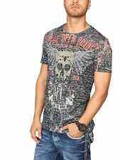 L4159 Cipo & Baxx Herren T-Shirt (Anthrazit, XXL)