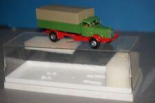 BOX10 Brekina 1/87 4404 Mercedes Benz 4500 LKW grün ohne Beschriftung -OVP-