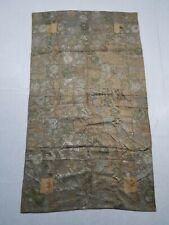 Antique Chinese Qing Dynasty Silk Brocade Dragon Panel 18th Century 193x112cms