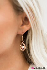 Grace Gold Earring Paparazzi Jewelry Beauty and