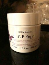 KP Duty Dermatologist Formulated Body Scrub Chemical & Physical Exfoliation 16oz
