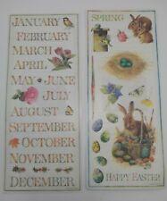 Marjolein Bastin Stickers Colorbok Stickers 2003 Twelve Months Springtime Easter