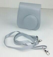 Fujifilm Instax Mini 9 Groovy Instant Camera Case Smokey White Gray Strap No Box
