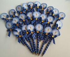 30 Baby Shower PRINCE pens Favors for boy