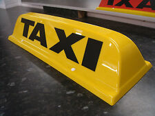 "* NEW DESIGN * TAXI ROOF SIGN YELLOW 18"" LED'S AERODYNAMIC TAXIMETER TOPSIGN"