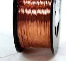 Copper Wire, 28 Gauge, Dead Soft, Copper Jewelry Wire, Craft Wire, 50 Feet, 011