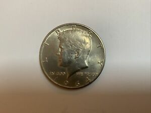 Silver Kennedy Half Dollar 1964