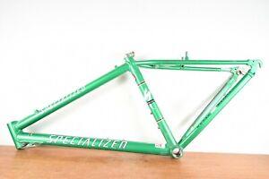 "Specialized Sworks Green Mountain Bike Frame 17"" Medium 26"" M2 Sworks"