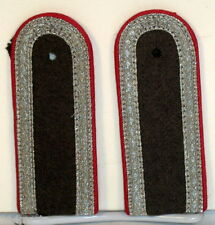 East German Germany Panzer Tank Lance Corporal Shoulder Boards Rank NVA DDR GDR