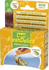 Tetra freshdelica Daphnia 48 Size Water Fleas in Jelly, 16 Bags 3 gr.futter