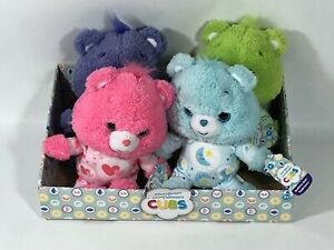 NWT Care Bears Cubs Harmony Good Luck Love A Lot Bedtime Bears & Store Display