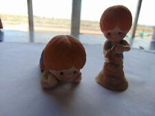 2 Enesco children's figurines