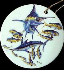 Marlin & Dolphin Ornament