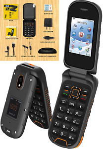 📲 Rugged Unlocked Cell Phone 4G GSM IP68 Military Grade Water Shock Proof New
