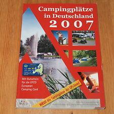 Campingplätze in Deutschland 2007 (Taschenbuch)