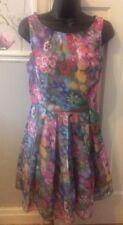 Monsoon Fusion Floral Dress Size 12 Beautiful Design