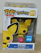 "POKEMON #579 Funko Pop /""Pichu/"" macchiata Flocked VINILE personaggio Sammelfigur"