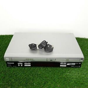 PANASONIC NV-VP33 DVD VHS Cassette Player Combi Video Recorder Silver Tested