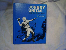 1972 JOHNNY UNITAS AND THE LONG PASS HARDCOVER w/many photos,Baltimore Colts,may