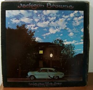 """JACKSON BROWNE, """"LATE FOR THE SKY"""""""