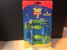 Disney Pixar Toy Story 2 Set Of 4 Star Command Noise Makers MOC Buzz Lightyear