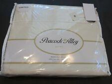 Peacock Alley 4P 600Tc Sateen Ivory Queen Sheet Set $800