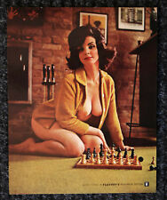 "Excellent 1960's PLAYBOY  8"" X 10"" Pin Up LAURA YOUNG Calendar Top"