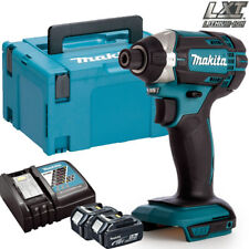 Makita Dtd152z 18v LXT Cordless Impact Driver With 1 X 4.0ah Battery & Charger