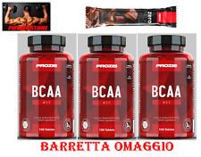 BCAA 4:1:1 - Prozis Sports 3 x 100 = 300 cpr Amminoacidi Ramificati + OMAGGIO