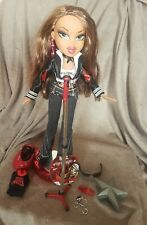More details for bratz doll - rock angelz yasmin doll with accessories