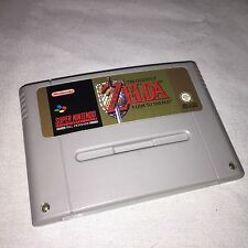 THE LEGEND OF ZELDA : A LINK TO THE PAST - SNES SUPER NINTENDO GAME - PAL A UKV