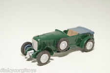 MATCHBOX YESTERYEAR 4.5 LITER BENTLEY GREEN EXCELLENT CONDITION REPAINT