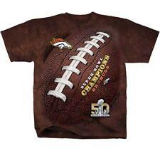 Denver Broncos 2016 Super Bowl 50 Football T-Shirt M