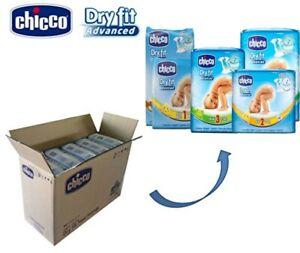 Pannolini Chicco Dry Fit Advanced Taglia 1 ( 2-5 Kg) Confezione Scorta da 135 Pz