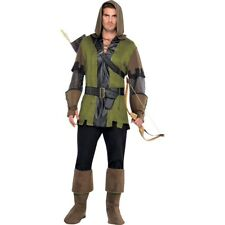 Prince of Thieves Robin Hood Costume Adult Plus Size Costume(Used) -