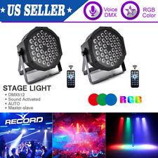 2Pcs 72W Par Dj Stage Effect Lighting 36 Led Rgb Dmx Club Party Show Disco Light