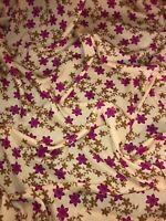 "3 MTR GREY MULTI COLOURED PRINTED CHIFFON DRESS FABRIC...45/"" WIDE"