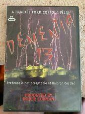 Dementia 13 Francis Ford Coppola DVD New