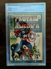 Captain America #100 CBCS 3.0 (MARVEL 68) FIRST SELF TITLED BOOK
