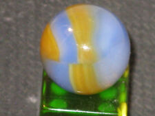 RARE MK GOLDEN BOY OPAL VINTAGE MARBLE KING GLASS MARBLE