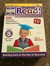 YOUR BABY CAN READ VOLUME 5 ROBERT TITZER, PhD EARLY READING DVD WORD CARD SET