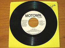 """PROMO SOUL 45 RPM - KAGNY & THE DIRTY RATS - MOTOWN 1672 - """"AT 15"""""""