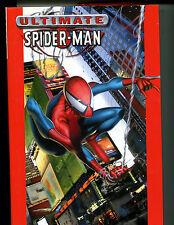 MARVEL ULTIMATE SPIDER-MAN VOL 1 (DJ - F/VF BOOK - VF-NM)  HC/GN 2nd PRINT 2003