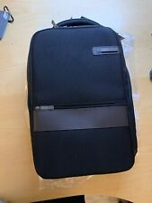 Samsonite Kombi Small Business Backpack with Smart Sleeve, Black/Brown
