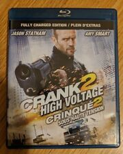 Crank 2: High Voltage (Blu-ray Disc, 2009, Canadian)