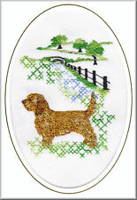 Basset Fauve de Bretagne Birthday Card Embroidered by Dogmania