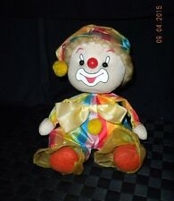 "Vintage Animated Enesco Clown Musical Plays ""Be A Clown"""