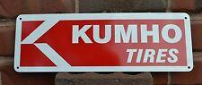 KUMHO TIRES SIGN Logo Tire Shop Mechanic Store Garage Service Center AD 10day